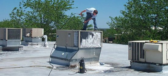 Rooftop Unit AC Powerwash
